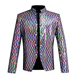 Sequin Suit Jacket