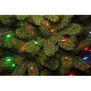 National Tree Downswept Douglas Fir Tree with Multicolor Lights 2