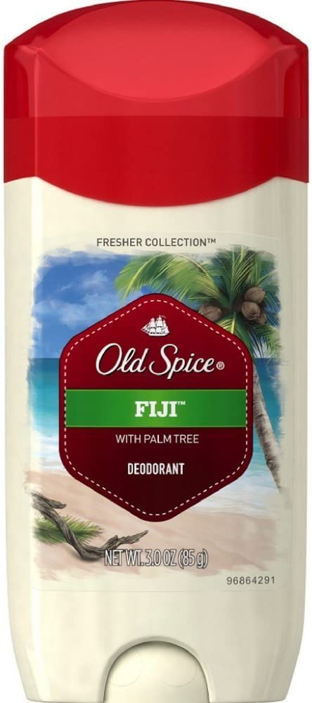Old Spice Fresh Collection Fiji Scent Men's Deodorant 3 Oz, Pack of 3