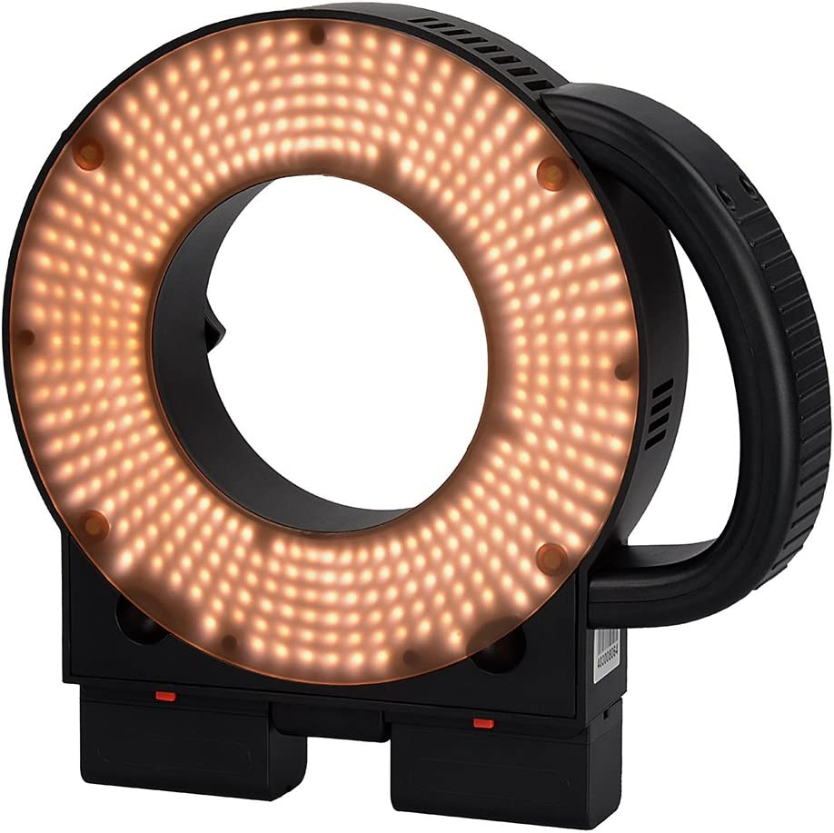 Fotodiox Pro Magnetic Warming Filter for LED-411A Ringlight CTO Converts Daylight to 3200k Tungsten Light