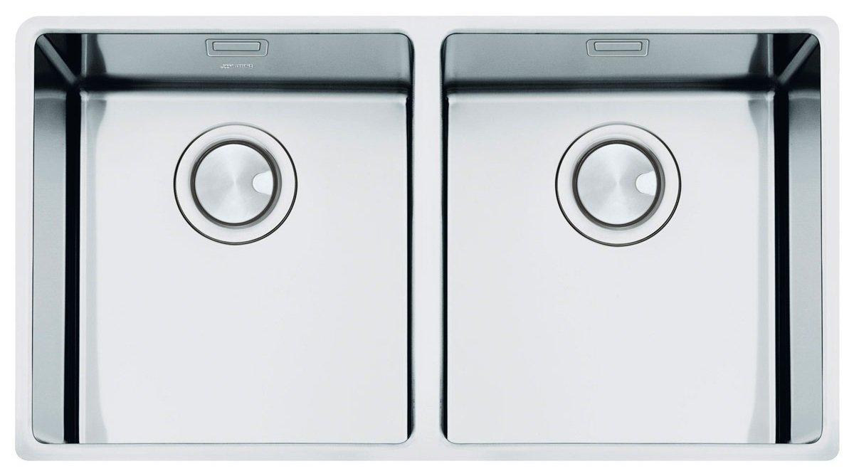 Smeg Mira VSTR3434-2 Undermount Sink Double Bowl: Amazon.co.uk: DIY ...