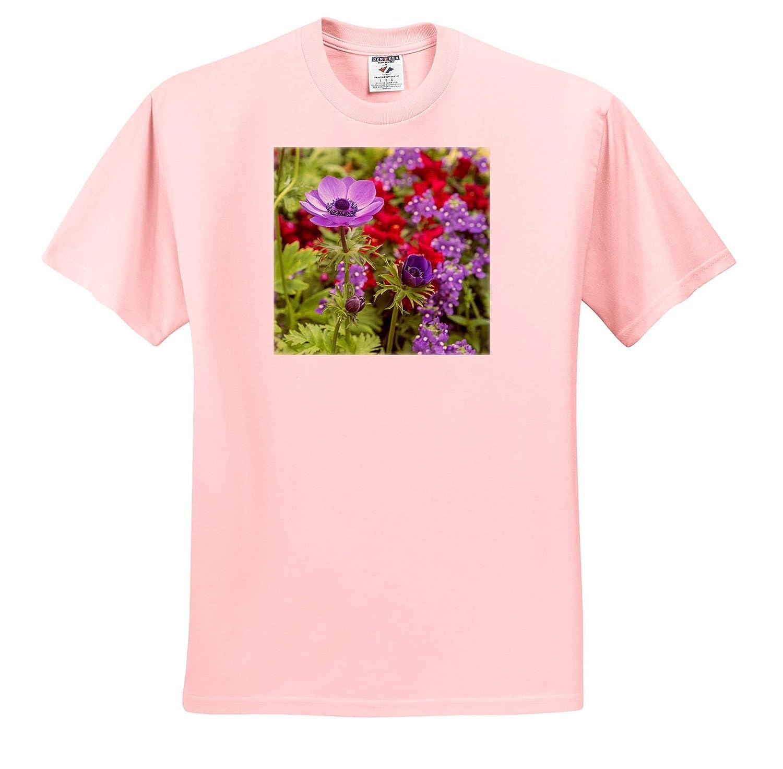 ts/_314997 Flowers Poppy-Flowered Anemone Adult T-Shirt XL USA 3dRose Danita Delimont