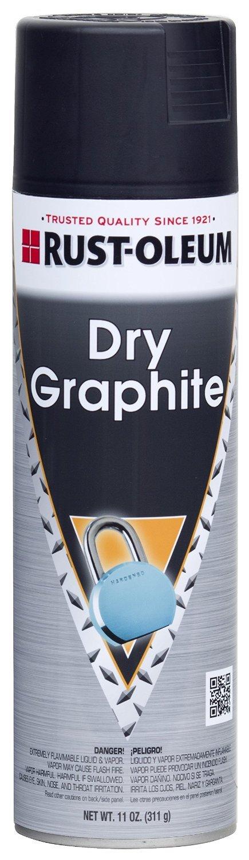 Dry Graphite Lubricant, 11 oz. Aerosol Can 273925 by Rust-Oleum
