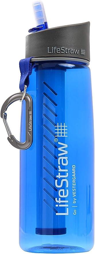 LifeStraw Go - Botella de agua con filtro integrado, Elimina ...