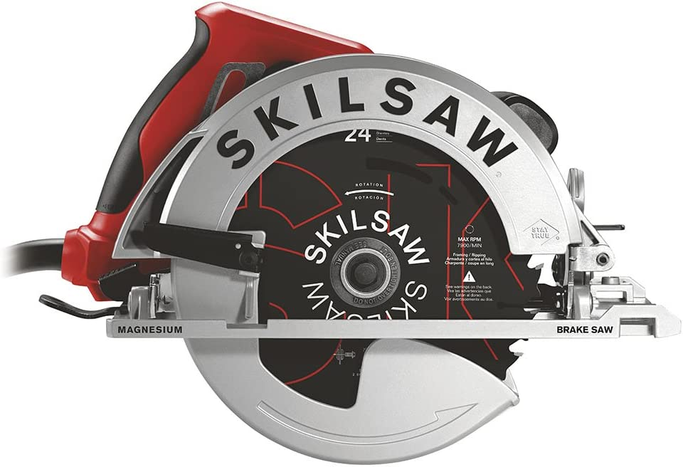 SKILSAW SPT67WMB-01 15 Amp 7-1 4 In. Magnesium Sidewinder Circular Saw with Brake