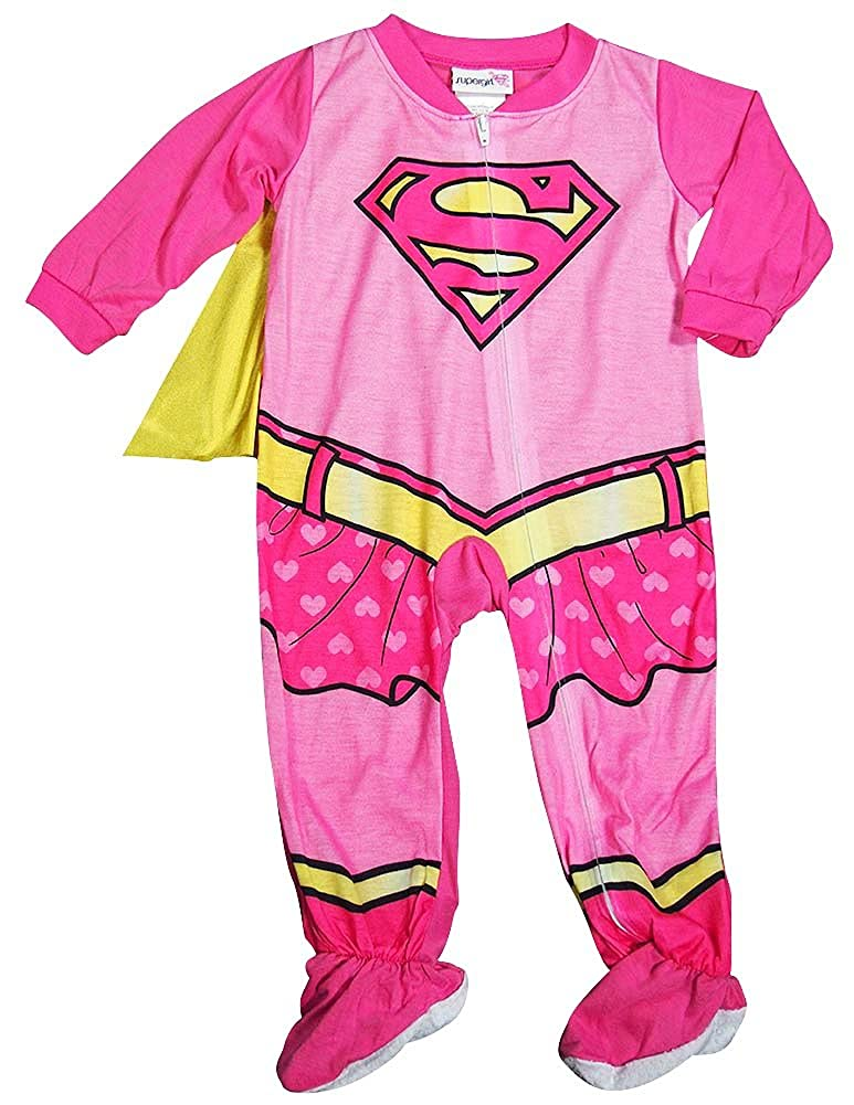 大きな割引 Supergirl Months SLEEPWEAR ベビーガールズ Supergirl 18 Months Pink Pink B015GA5WWY, 龍神村:1ac9e357 --- turtleskin-eu.access.secure-ssl-servers.info