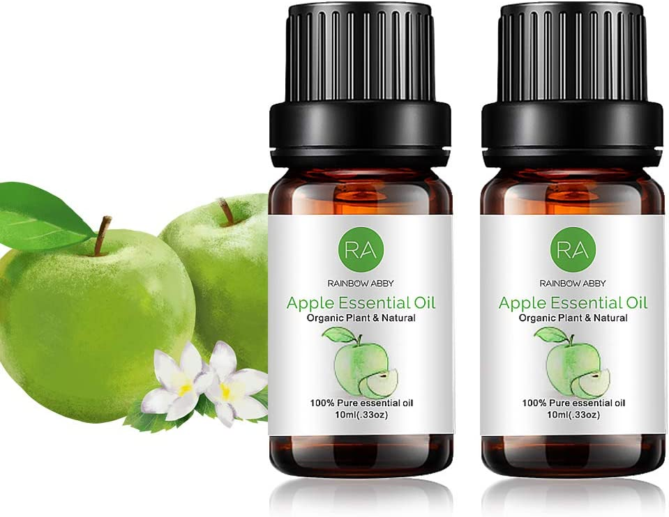 2-Pack Apple Essential Oil, Pure, Undiluted, Therapeutic Grade Apple Oil - 2x10 mL