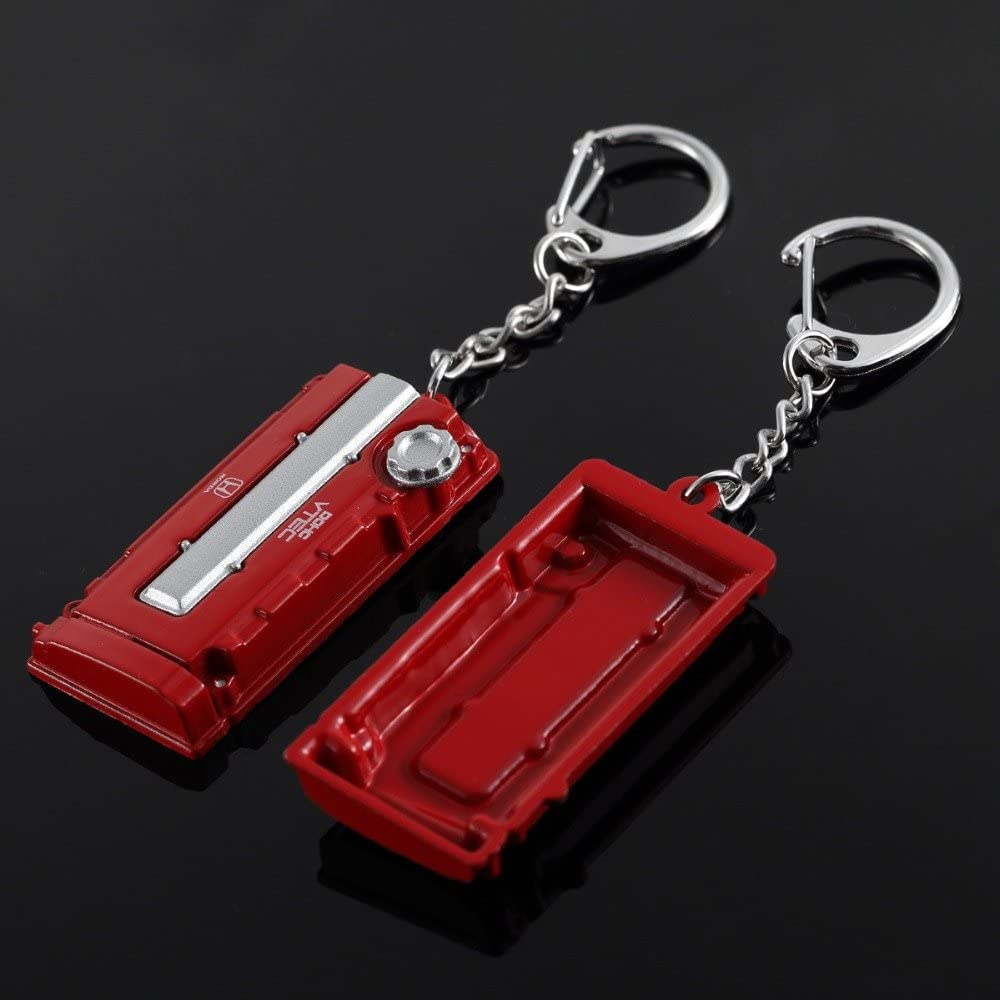 Civic Type R Integra NSX S2000 Accord VTEC Engine Cam Cover Keyring Key Chain