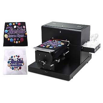 Dtg Printer T Shirt Printing Machine A4 Size Dtg Printer Machine For T Shirts Onesies Socks Bags Amazon Ca Industrial Scientific