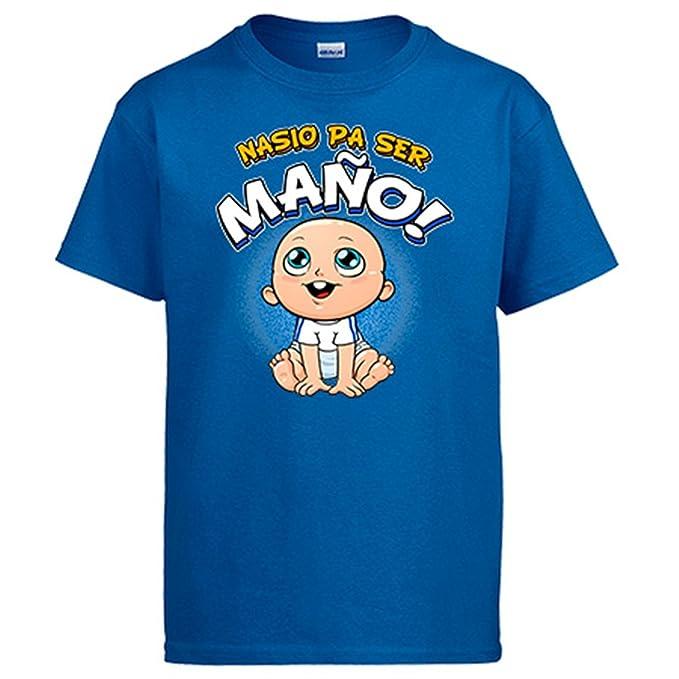 Diver Camisetas Camiseta Nacido para ser Maño Zaragoza fútbol: Amazon.es: Ropa y accesorios