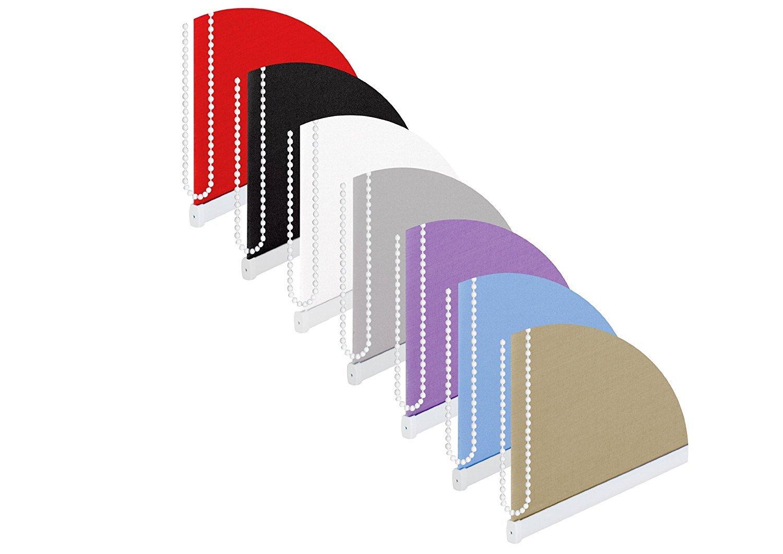 Store enrouleur tamisant /à 50/cm Largeur 175/cm de long gris occultant 50/% Pare-vue Store enrouleur Cordon /à fen/être Store enrouleur de 50/x 175/cm