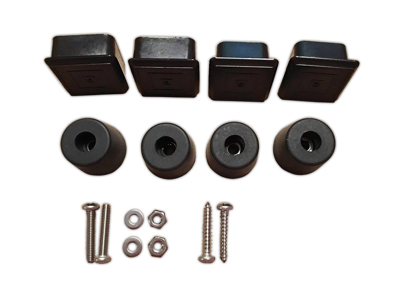 Noa Store Spare Tire Carrier Plug and Bumper Kit for Jeep Wrangler CJ 1976-1986 CJ7 CJ8 4350432996