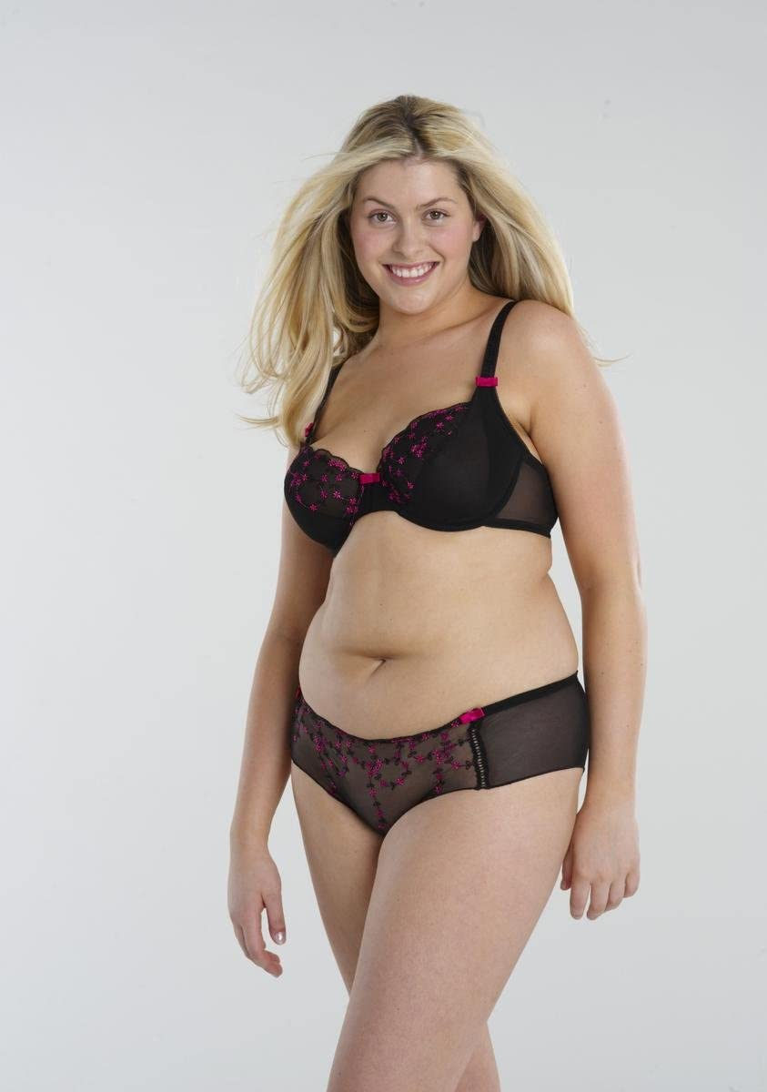with plus plus lingerie models size size