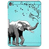 MightySkins Skin for LifeProof NUUD Apple iPad Pro 12.9 (2018) Case - Musical Elephant | Protective, Durable, and Unique Vinyl wrap Cover | Easy to Apply, Remove, and Change Styles | Made in The USA