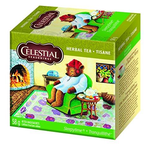 Celestial Seasonings Herb Tea Sleepytime LARGE Box, 40-count