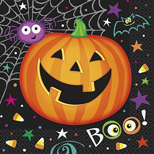 (Pumpkin Pals Halloween Party Napkins, 16ct )