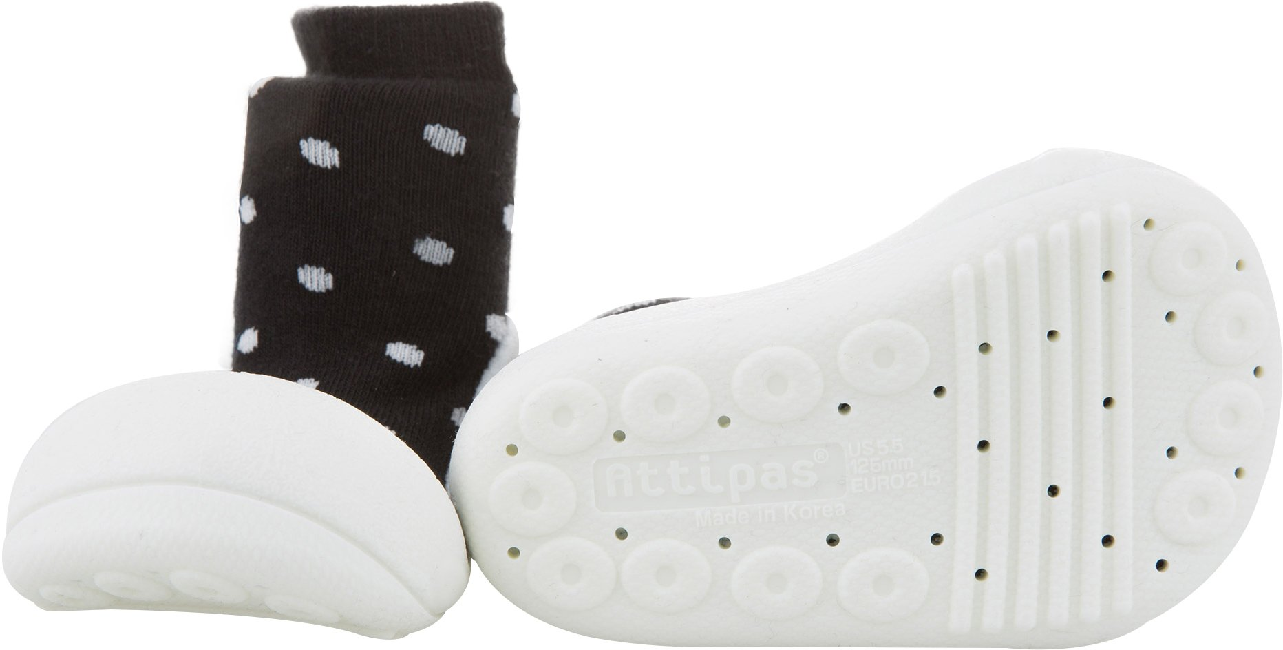 Attipas Baby First Walker Shoes (Medium, Urban Dot) by Attipas (Image #3)
