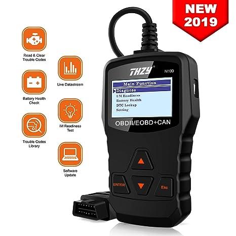 OBD Escáner de Diagnóstico THZY NI100 Coche Herramienta OBD2 con pantalla OBD Escáner de Código de Lector de Código