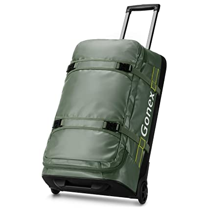 Gonex Bolsa de Viaje con Ruedas, 70 L, Repelente al Agua ...