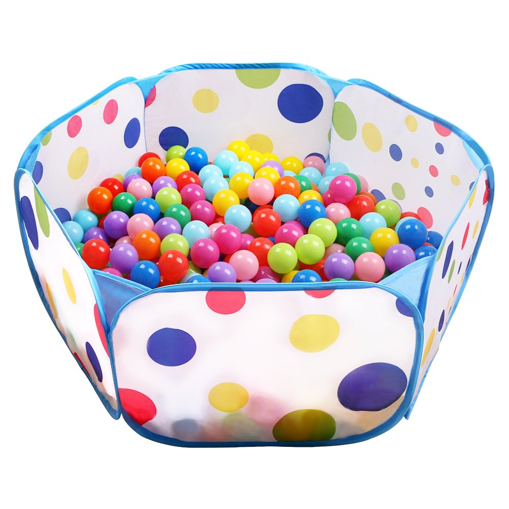 Amazon.com Kids Ball Pit EocuSun Large Pop Up Toddler Ball Pits Tent for Toddlers Girls Boys for Indoor Outdoor Baby Playpen w/ Zipper Storage Bag ...  sc 1 st  Amazon.com & Amazon.com: Kids Ball Pit EocuSun Large Pop Up Toddler Ball Pits ...