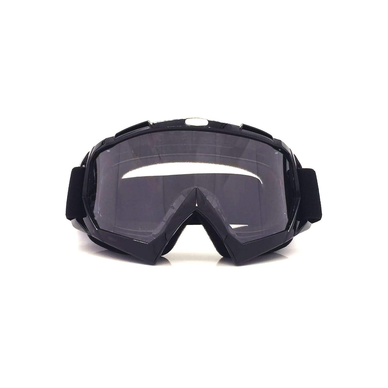 AmDxD TPU+PC Motorradbrillen Radsportbrille Skibrille Schutzbrillen Anti-Nebel Brille für Skifahren Schneemobil Motorrad Fahrrad