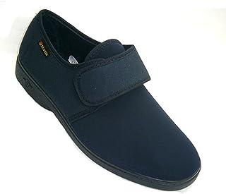 Man Schuh sehr komfortabel Lycra gesamte Schaufel Alberola marineblau