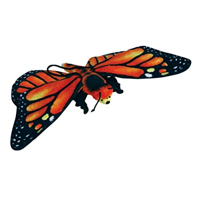 "Rhode Island Novelty 13"" Monarch Butterfly Plush Stuffed Animal Toy: Toys & Games"