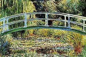 Le Pont Japonais a Giverny Poster Print by Claude Monet, 36x24 Poster Print by Claude Monet, 36x24