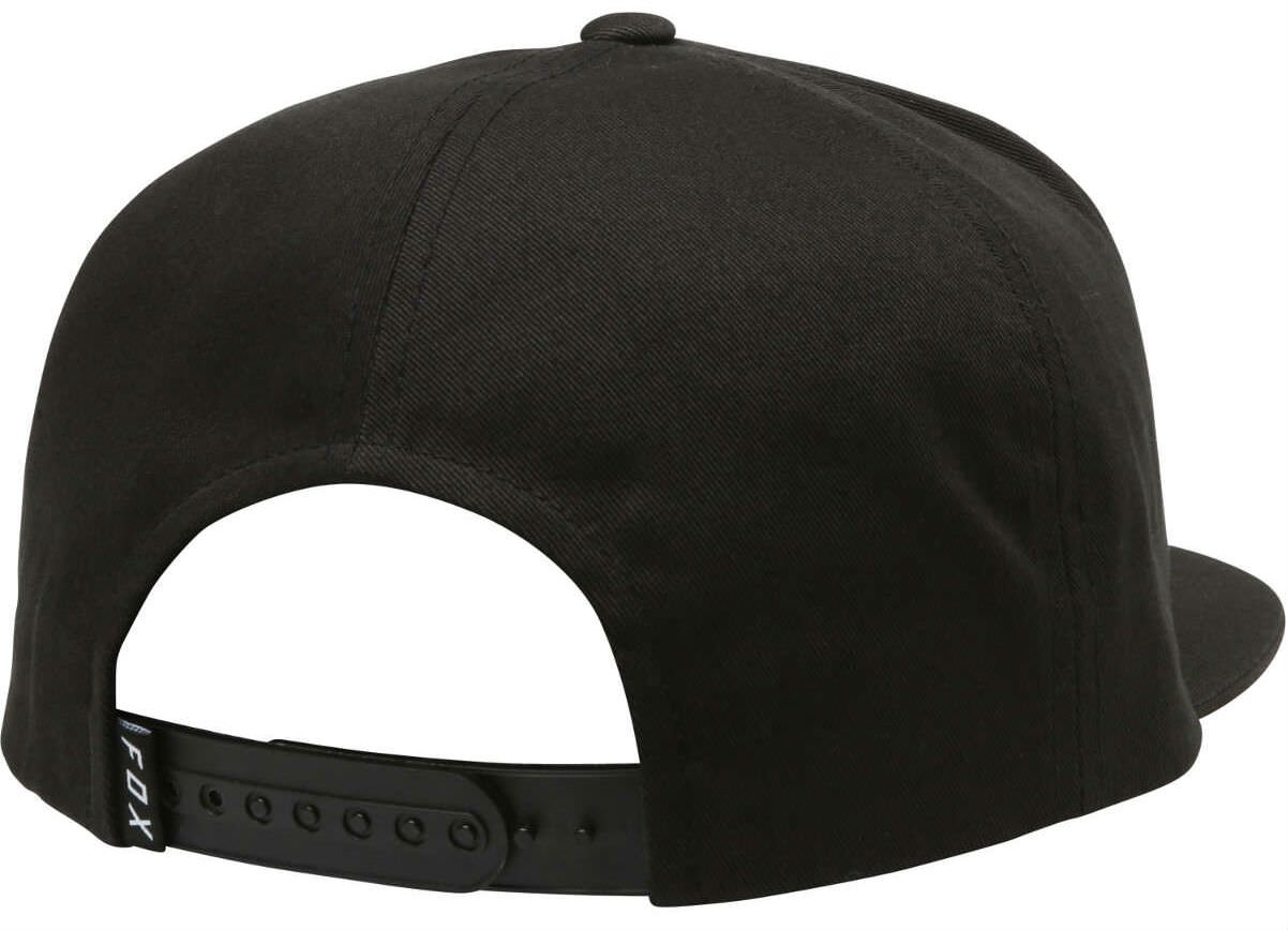 23ae19a631c Fox Legacy Cap - Black Snapback Snap Back Sunny Sun Blocker Visor Baseball  Hat Headwear Head Wear Mountain Biking Bike MTB Trail MotoX Motocross MX  Moto ...
