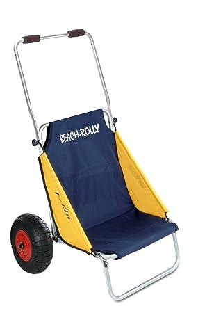 Eckla Beach Rolly - Carrito convertible en silla de playa: Amazon.es: Electrónica