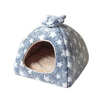 XINSU Saco de Dormir para Mascotas pequeño y Mediano Estera para Mascotas Estera para Mascotas Estera para Perros Cat House Dog Nest Nido Pet Supplies Pet ...