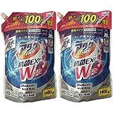 【超特大】アタックNeo 抗菌EX Wパワー 洗濯洗剤 濃縮液体 詰替用 1300g+100g増量 (【超特大】1400g×2個セット)