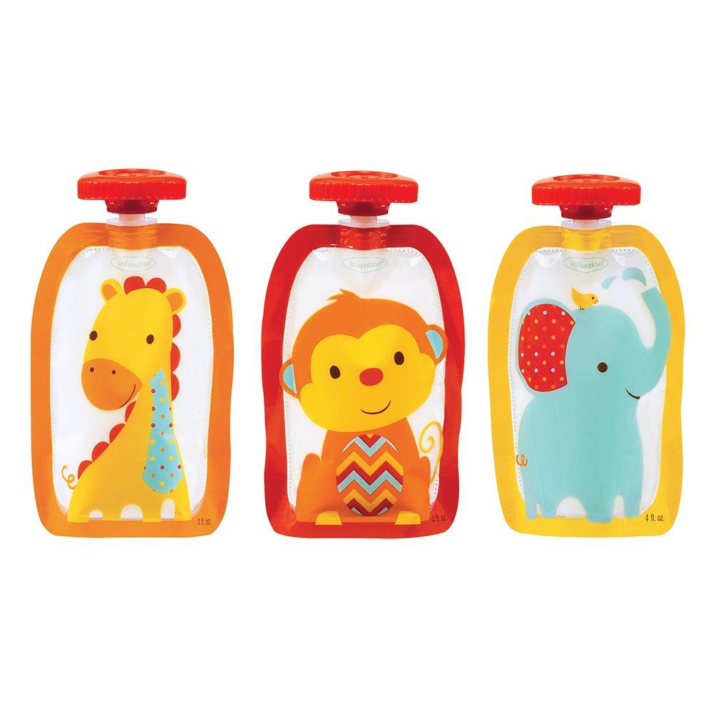Infantino Fresh Fashion Squeeze Pouches