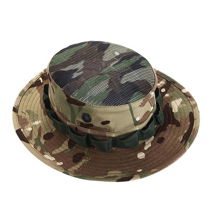 Amazon.com: tortor 1bacha bebé Kid camuflaje sombrero del ...