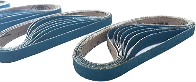50-Pack VSM Zirconia Better Performance Cloth Belt ZK713X 1//2 Inch x 21 Inch 80 Grit X-Weight Backing