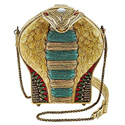 3-D Cobra Crossbody Handbag