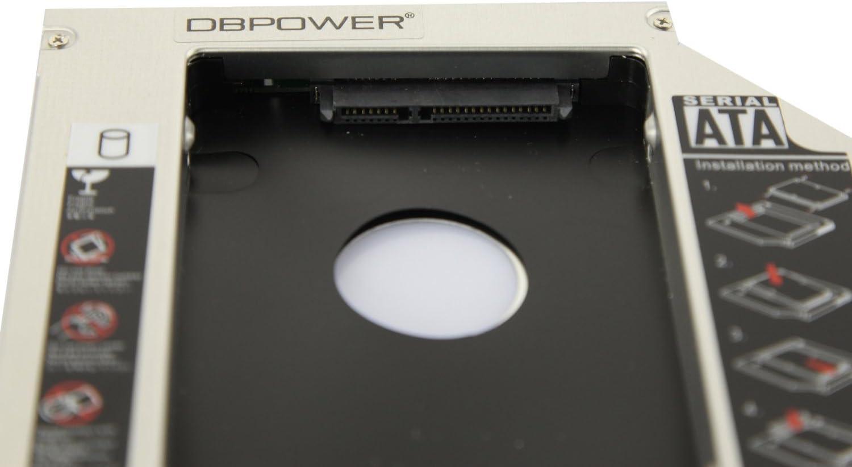 DBPOWER Caddy - Disco duro SATA a IDE/PATA para ordenador (12,7 mm ...