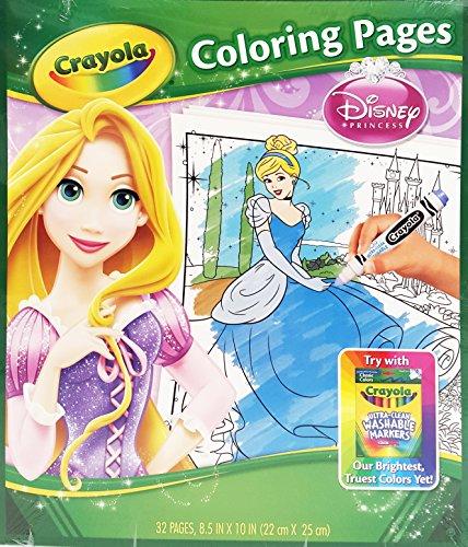 Crayola Disney Princess Coloring Pages