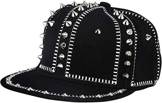 WZYJ Nuevo Hip Hop Moda Tapa de Metal del Remache del Snapback de ...