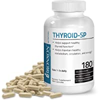 Thyroid Support Complex with Iodine - Healthy Thyroid Function, Immune System, Energy Levels, Thyroid Hormone Levels, Metabolism - 180 Capsules