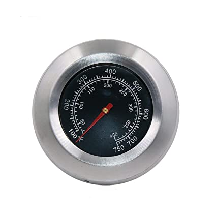 BBQ Grillthermometer Analog Thermometer Für Gasgrill Thermometer Barbecue 76mm