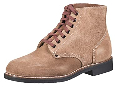 a446fac015d Mil-Tec Replica WW2 American 'Rough Out' Ankle Boots
