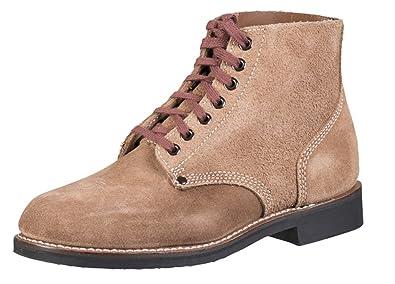 148b628501e6c Amazon.com | Mil-Tec Replica WW2 American 'Rough Out' Ankle Boots ...