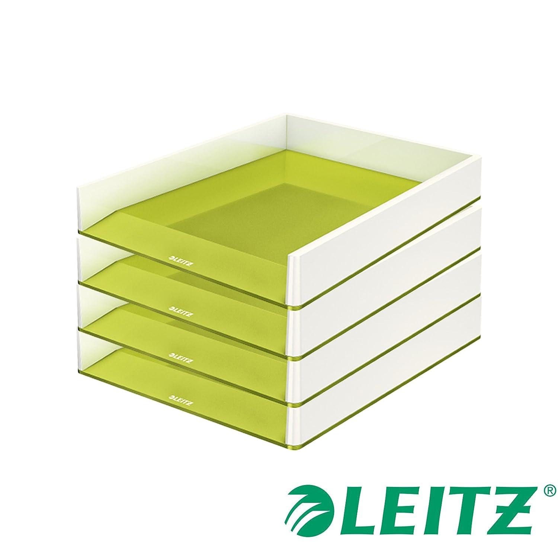 /Desk Trays Leitz WOW/ Metallic, Pink, Polystyren, A4