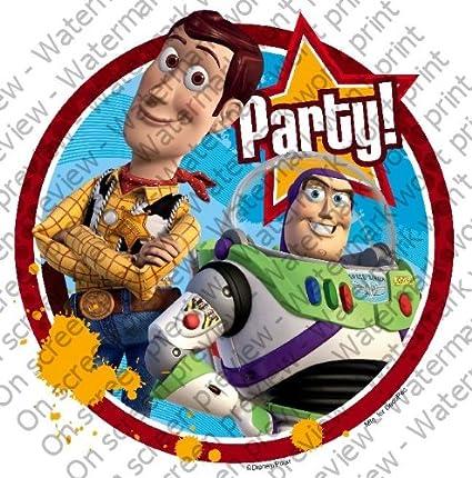 Toy Story 3 Fiesta de cumpleaños. ~ de imagen comestibles ...