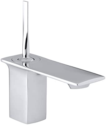 KOHLER K-14760-4-CP Stance Single-Control Lavatory Faucet, Polished Chrome