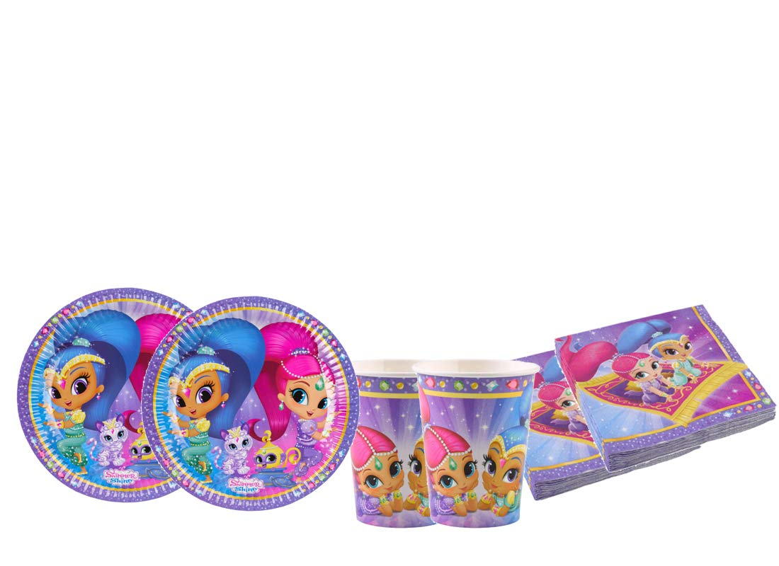 Decorata Party Kit - A Fiesta de cumpleaños Shimmer & Shine ...