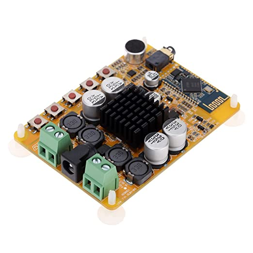 8 opinioni per KKmoon TDA7492 Wireless Bluetooth 4.0 2 * 50W 2 canali ricevitore Audio Stereo