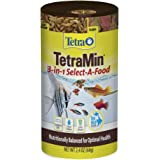 Tetra 77031 TetraMin Flakes Select-a-Food, 2.4-Ounce, 250-ml