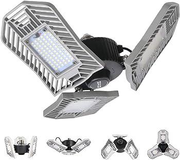 Cynlink 8000lm 80W 80-LED E26 Garage Shop Light